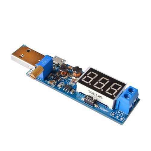 1x DC-DC USB Boost Power Regulator Power Module Desktop 5V to 3.3V 9V 12V 24V