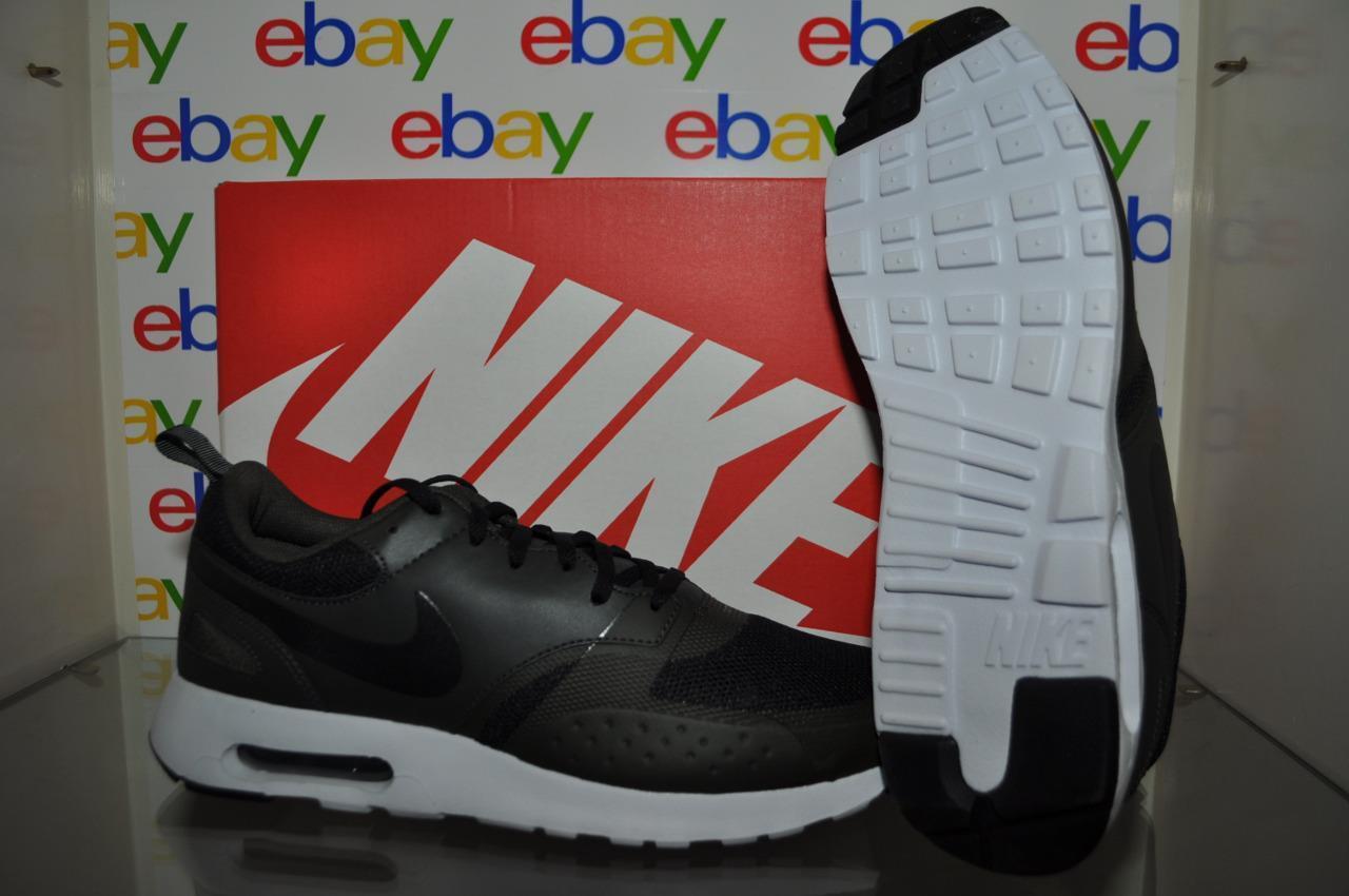 Nike Air Max Vision Mens Athletic Shoes 918230 002 Black/Black-Sequoia NIB