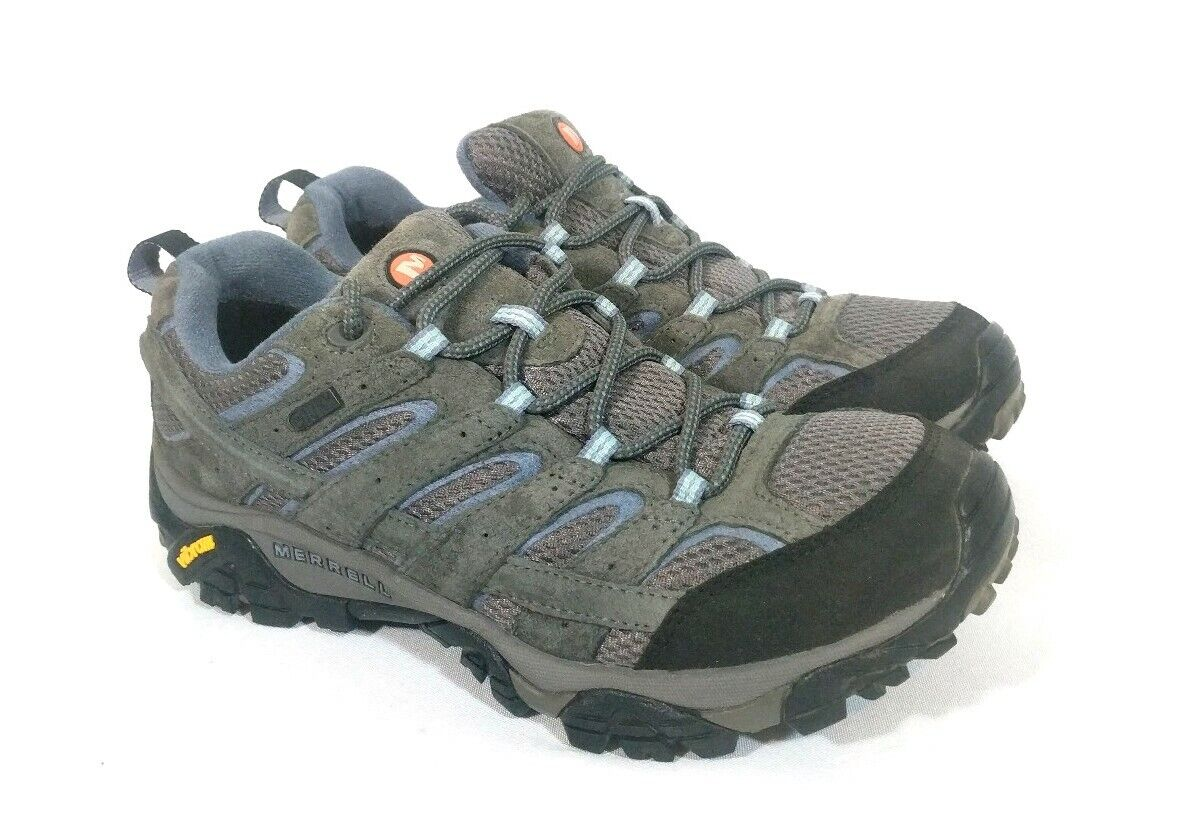 Womens MERRELL MOAB 2 VENTILATOR Low  Hiking Trail Boots 10.5 GRANITE blueE VIBRAM  best quality best price