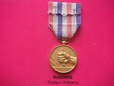 Médaille des Cheminots dorée attribuée en 1952