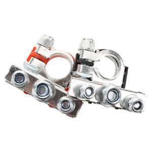 Nero-auto-rosso-in-metallo-90-gradi-angolo-Tipo-morsetti-terminali-batteria-F1H0