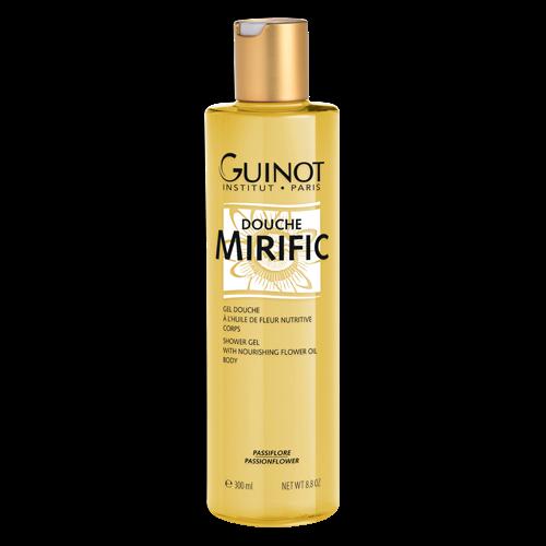 GUINOT Gel Douche Mirific à l'huile de fleur nutritive corps 300 ml NEUF