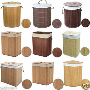 Large Foldable Bamboo Laundry Bin Basket Hamper Linen Cloth Washing Box Lid - GLASGOW, United Kingdom - Returns accepted Most purchases from business sellers are protected by the Consumer Contract Regulations 2013 which give you the right to cancel the purchase within 14 days after the day you receive the item. Find out more about  - GLASGOW, United Kingdom