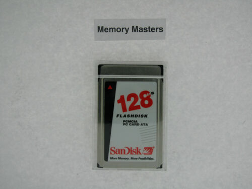 SDP3B-128-584 128MB 68p PCMCIA ATA Flash Card