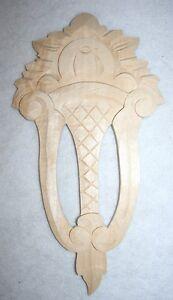 holzzierteil In Linde,vertiko,kleiderschrank,schrank Nr.19 Einfach Zu Verwenden Ornament verzierung