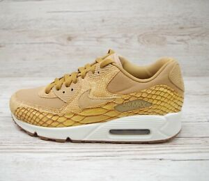 Details about NIKE AIR MAX 90 PREMIUM LEATHER SNAKESKIN size UK 6.5 EUR 40.5 US 7.5 AH8046 200