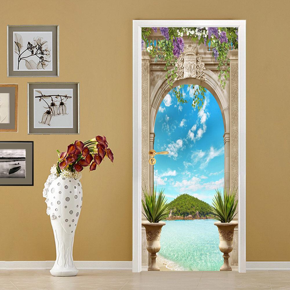 3D Die Berge 724 Tür Wandmalerei Wandaufkleber Aufkleber AJ WALLPAPER DE Kyra