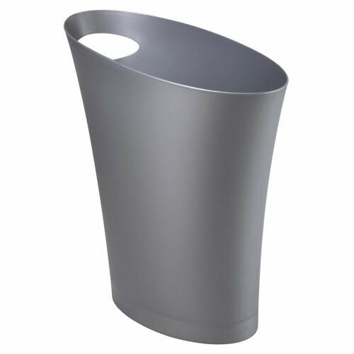 Small Garbage Can Wastebasket for N Umbra Skinny Sleek  Stylish Bathroom Trash