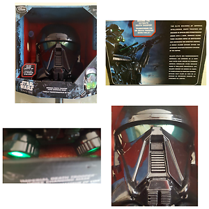 Star Star Star Wars Death Trooper Voice Changing Light Up Mask NEW Star Wars 'Rogue One' fd0255
