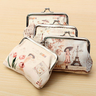 Fashion Cute Women Girl Wallet Handbag Key Coin Bag Change Purse Pockets Pouch