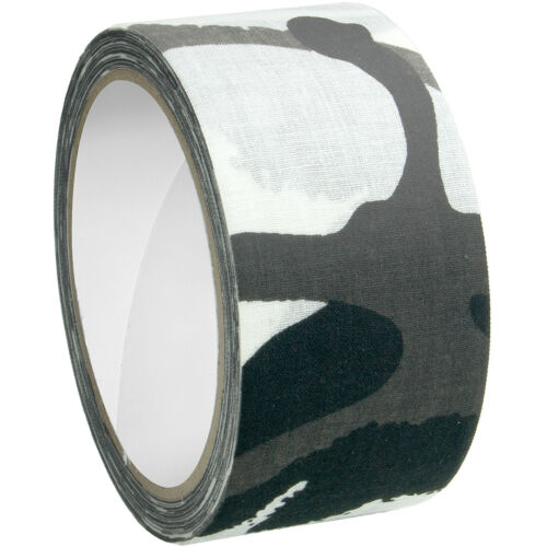 MFH Fabric Tape 5cm x 10m Camouflage Wrap Airsoft Adhesive Stealth Urban Camo