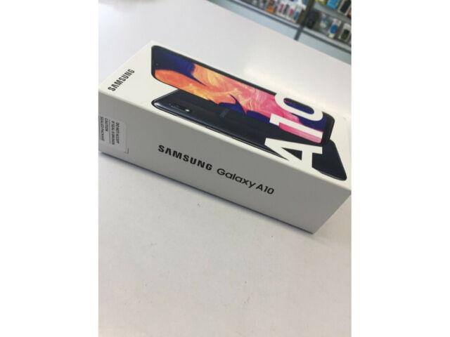 Samsung Galaxy A10 Dual SIM 32GB 2GB RAM SM-A105FN/DS Black UK