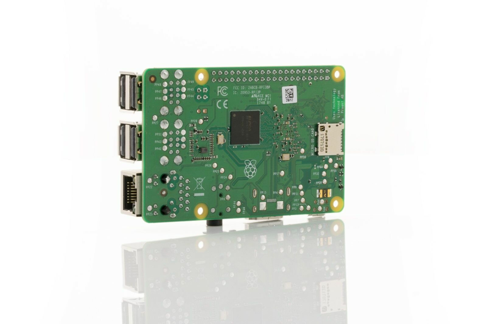 Raspberry PI 3 B+ B PLUS 64 Bit Quad Core 1GB WIFI Motherboard Computer NEW 2018