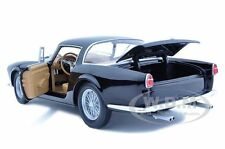 FERRARI 410 SUPERAMERICA BLACK 1:18 DIECAST MODEL CAR BY HOTWHEELS T6246