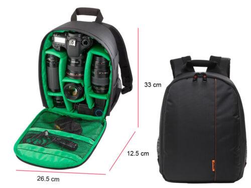 DSLR mochila bolsa caso de Cámara para Canon EOS 1300D 2000D 4000D 200D 750D 800D 80D