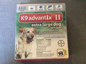 K9-ADVANTIX-II-FLEA-AND-TICK-CONTROL-DOGS-OVER-55-LBS-4-PACK-NEW-IN-BOX-USA