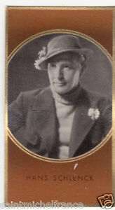 HANS-SCHLENCK-ACTEUR-ACTOR-GERMANY-DEUTSCHLAND-ALLEMAGNE-IMAGE-CARD-30s