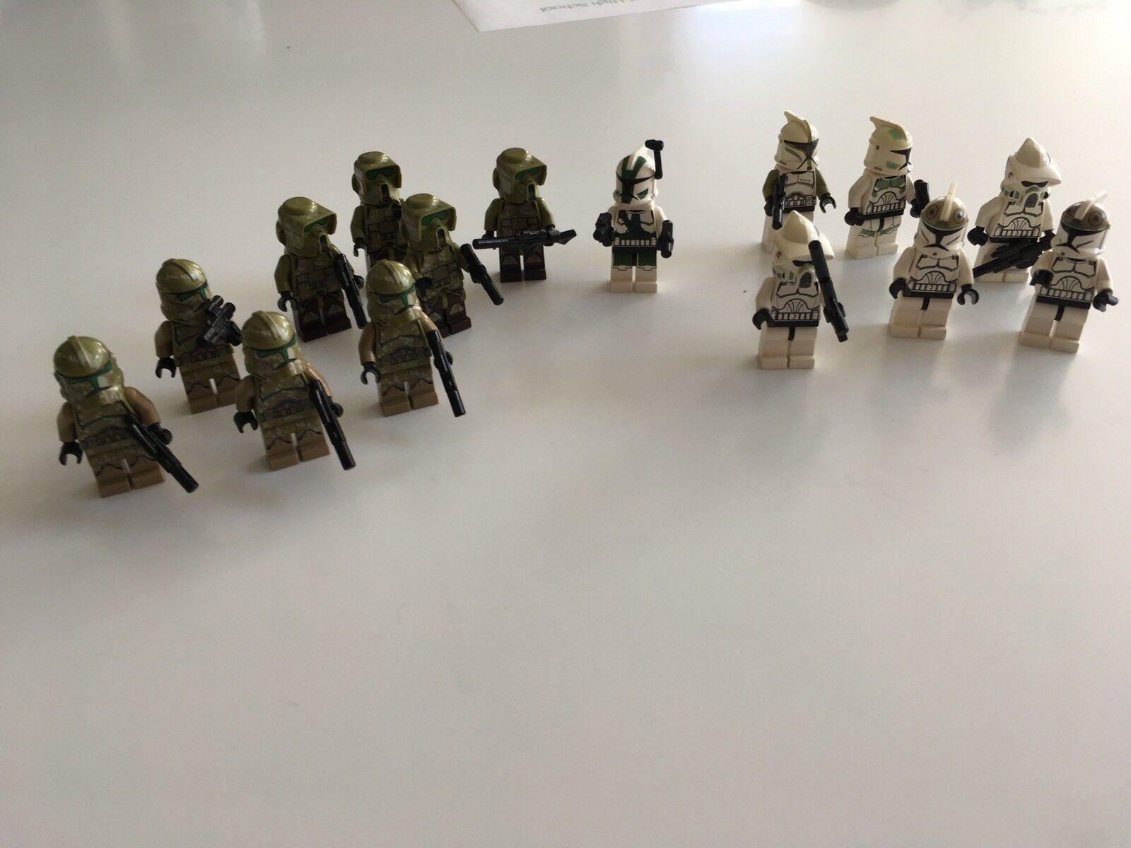 Lego Job Lot Minifigures Rare Spares Mini Figure Starwars Star Wars Storm x15