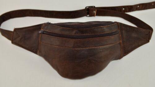 Organic Leather Bumbag Hip Bag Fanny Pack Money Belt Purse Moroccan *HANDMADE*