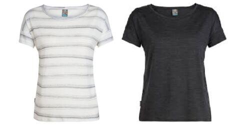 Icebreaker Tech Lite Short Sleeve Scoop Funktionsshirt Damen Merinowolle kühlt