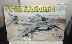 ESCI-ERTL-1-72-Scale-AV-8B-Harrier-II-U-S-Marines-Boxed-Sealed-Original