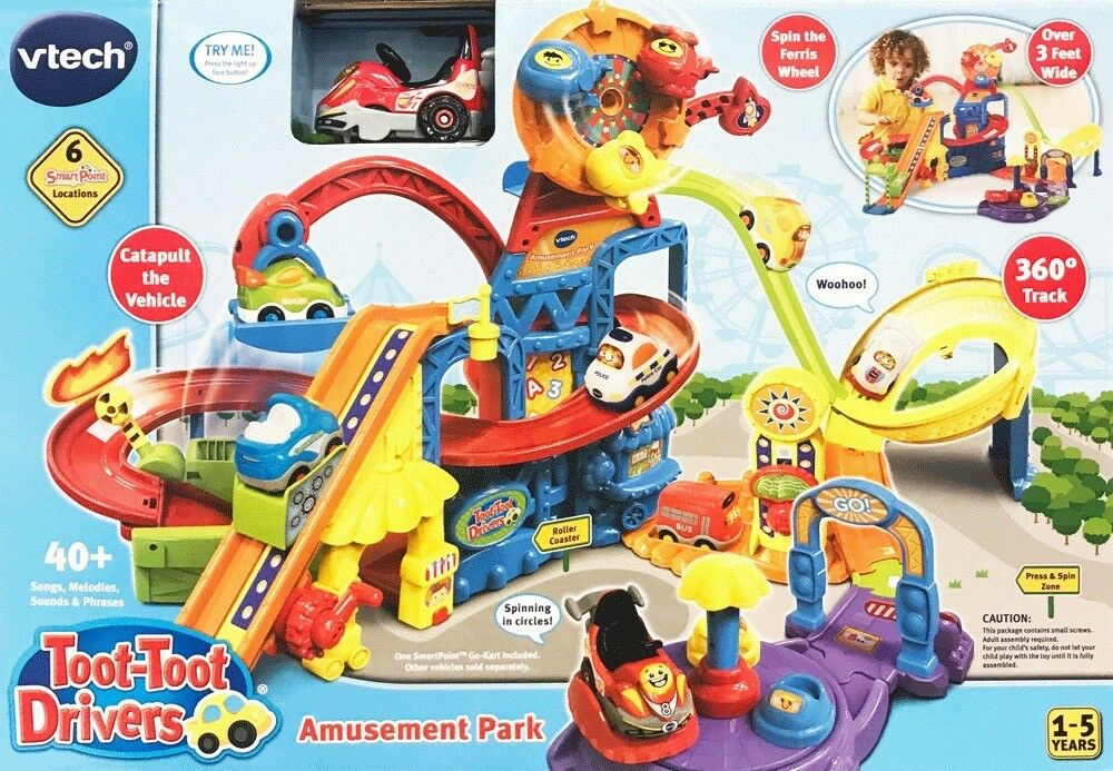 Vtech Toot-Toot Drivers Amusement Park (1-5 Years) 80-504003