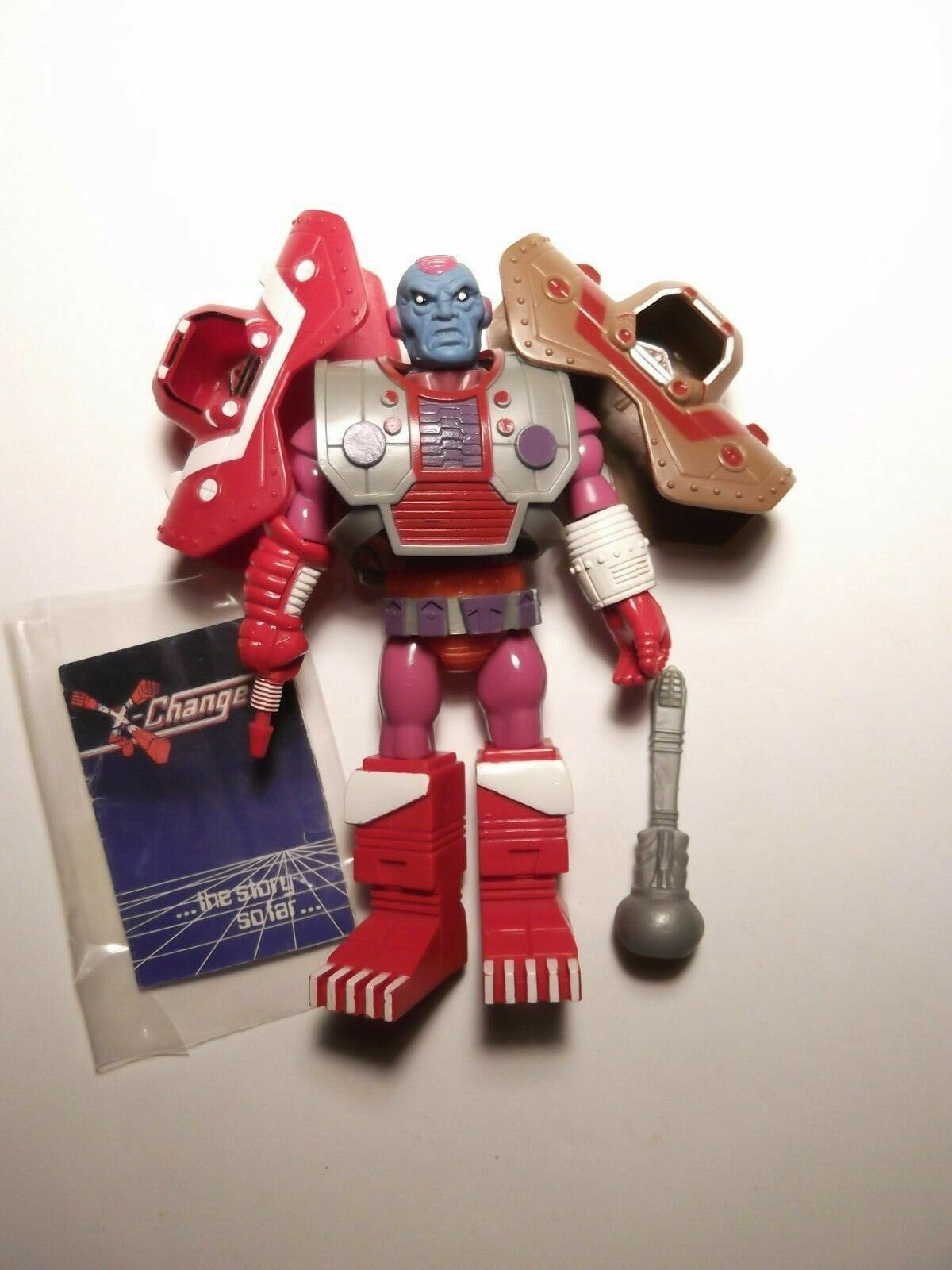 Acamas giocattoli X-Changers Terax cifra  completare Bonus armor-helmet  galaxy warriors  molte sorprese