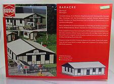 Busch 1391 Bausatz:  DDR-Baracke ( LPG , Armee , VEB etc. )