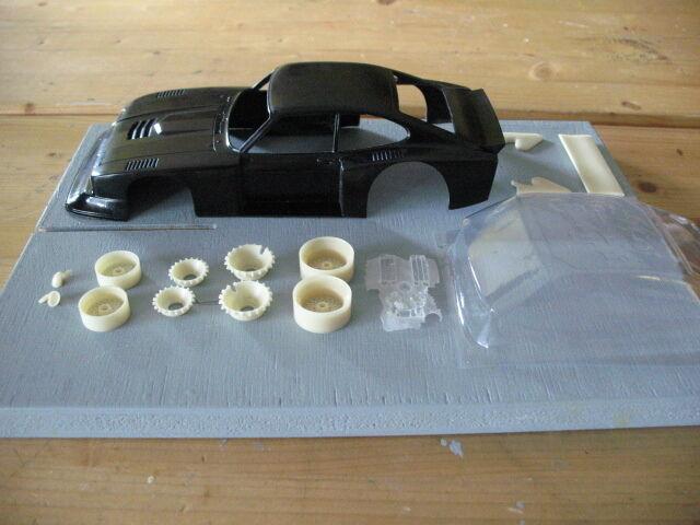 1 24 Ford Capri Capri Capri Gr. 5  ,Weißer GFK Kit,mit Anbauteilen,Neu  | Verkauf Online-Shop  2a6324