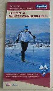 Loipen- & Winterwanderkarte Tor zu Tirol Naturparkregion Reutte Österreich - Kempten, Deutschland - Loipen- & Winterwanderkarte Tor zu Tirol Naturparkregion Reutte Österreich - Kempten, Deutschland