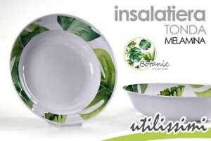 CIOTOLA-INSALATIERA-MELAMINA-TONDA-25-CM-DECORO-BOTANIC-LAD-739606