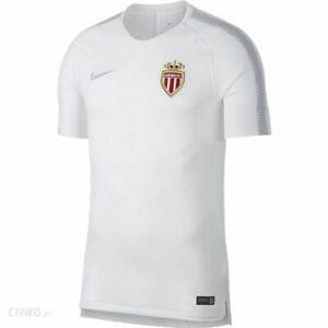 Men-039-s-2018-2019-Monaco-Nike-Squad-training-shirt-Taille-moyenne-919948-100