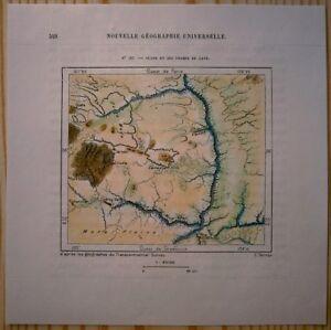 1892 Perron Map Ocate Lava Fields Mora County New Mexico 136