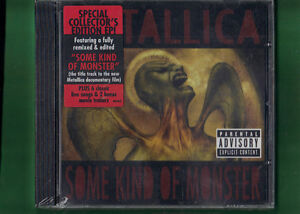 METALLICA-SOME-KIND-OF-MONSTER-SPECIAL-COLLECTOR-EDITION-EP-CD-NUOVO-SIGILLATO