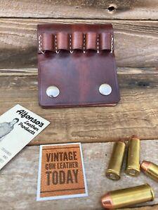 Leather .45 ammo strip