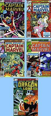 MARVEL SPOTLIGHT V.2 # 1 NM 1979 CAPTAIN MARVEL Broderick *ShipsFree w//$35 Combo