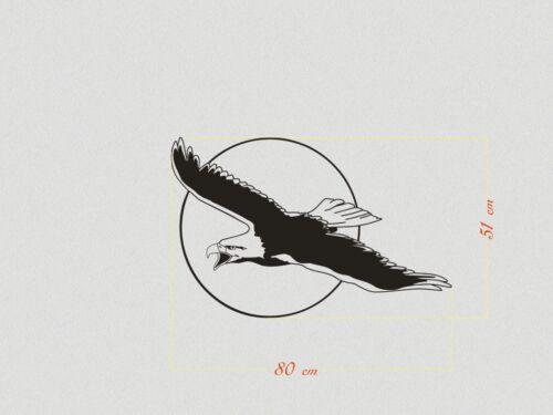 Tattoo für innen und außen Kopf  Wand Möbel Falke Auto