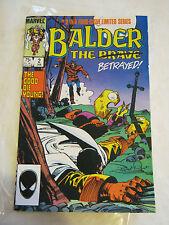 Balder the Brave #2 (Jan 1986, Marvel)