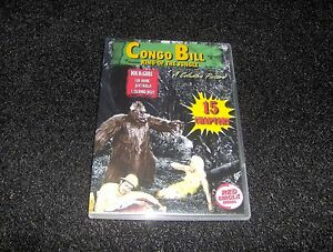 CONGO BILL CLIFFHANGER SERIAL 15 CHAPTERS 2 DVDS