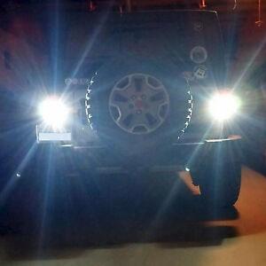 genssi 80w led reverse backup light bulbs for jeep wrangler jk 2007 rh ebay com