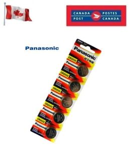 5 x Panasonic CR2032 Button Coin Cell 3V Lithium Battery Batteries exp 12-2030