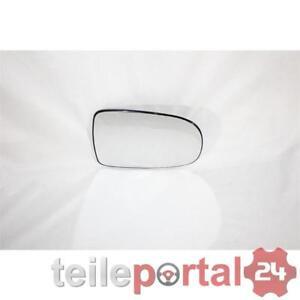 Rechts Beifahrerseite Spiegelglas Beheizbar für Opel Corsa C 2000-2006