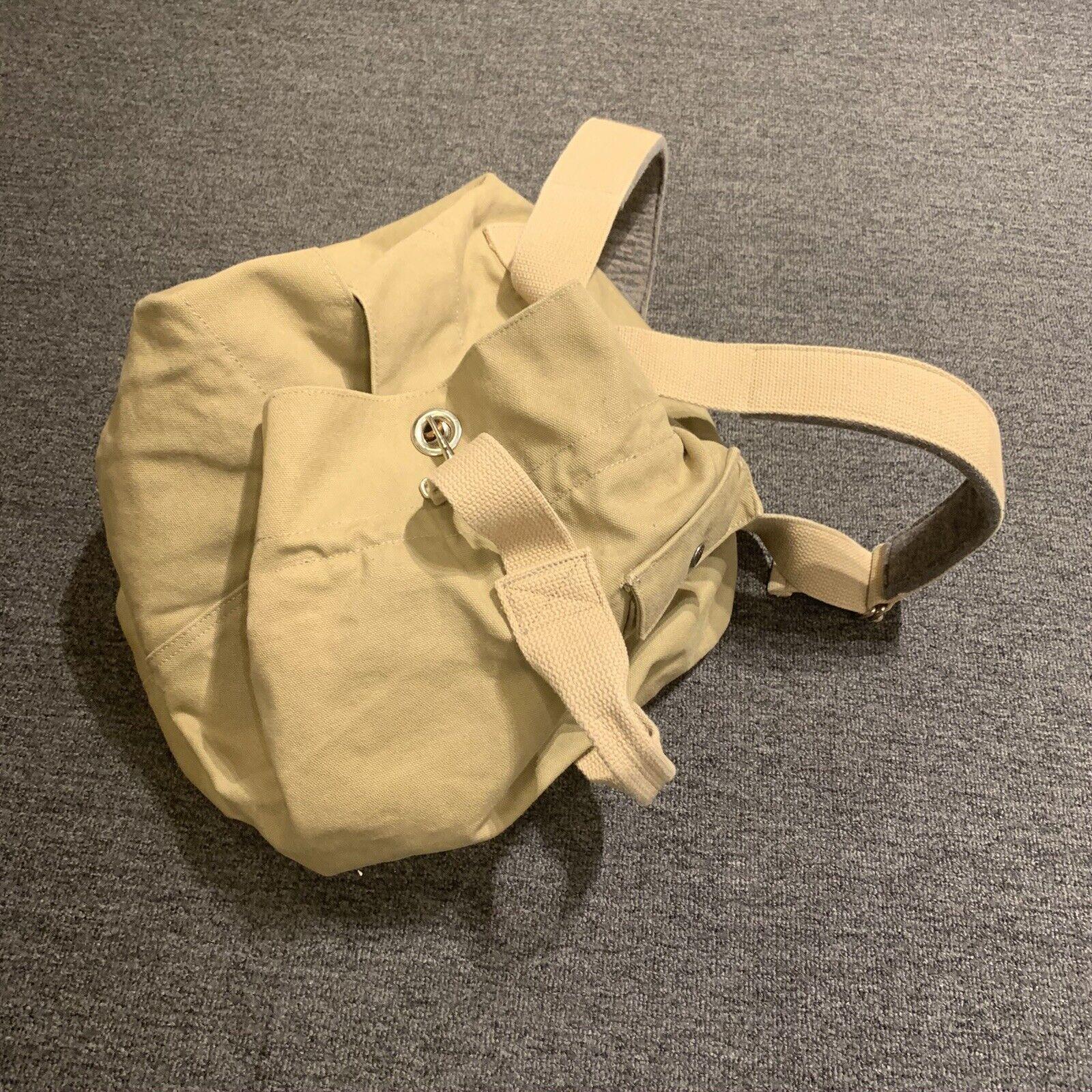 Engineered Garments Army Duffle Backpack Khaki