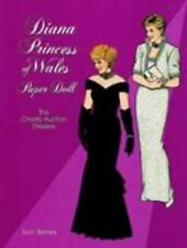 Diana, Princess of Wales, Paper Doll: The Charity Auction Dresses (Dover Royal..