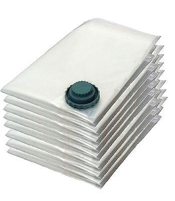 8x Jumbo size vacuum space saving saver storage compressing seal bags 70 x 100cm