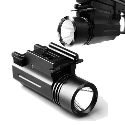 CREE LED Flashlight Torch Pistol G 17 19 20 21 22 23 Weaver//Picatinny rail Hunt