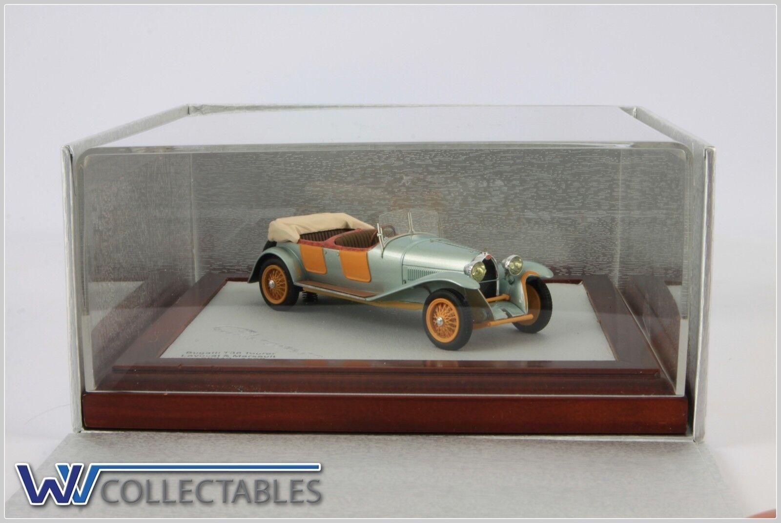 Bugatti Type 38 gris Orange Open 1 130 Ilario Chromes 1 43 Chroniques 035