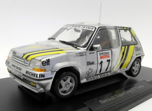 NOREV-DIECAST-ESCALA-1-18-185215-Renault-5-GT-Turbo-Tour-de-Corse-supercinq-89