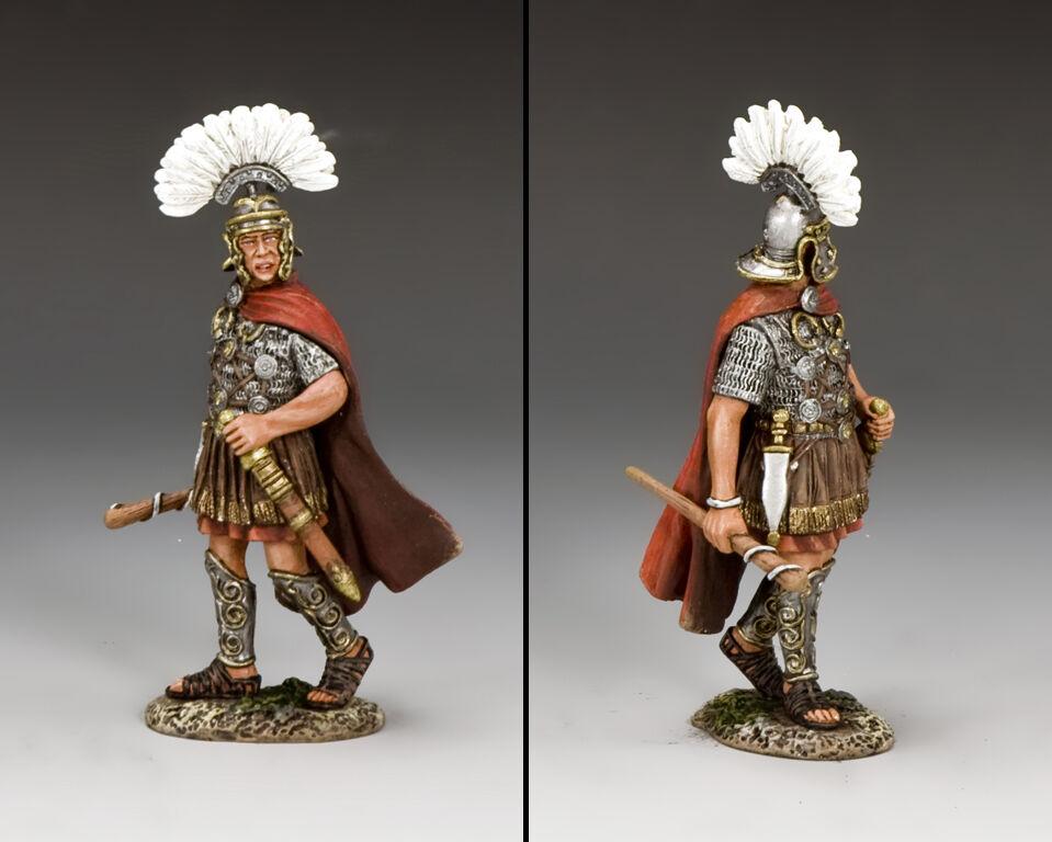 KING & COUNTRY ROMAN EMPIRE ROM003 ROMAN PRIMUS PILUS MIB