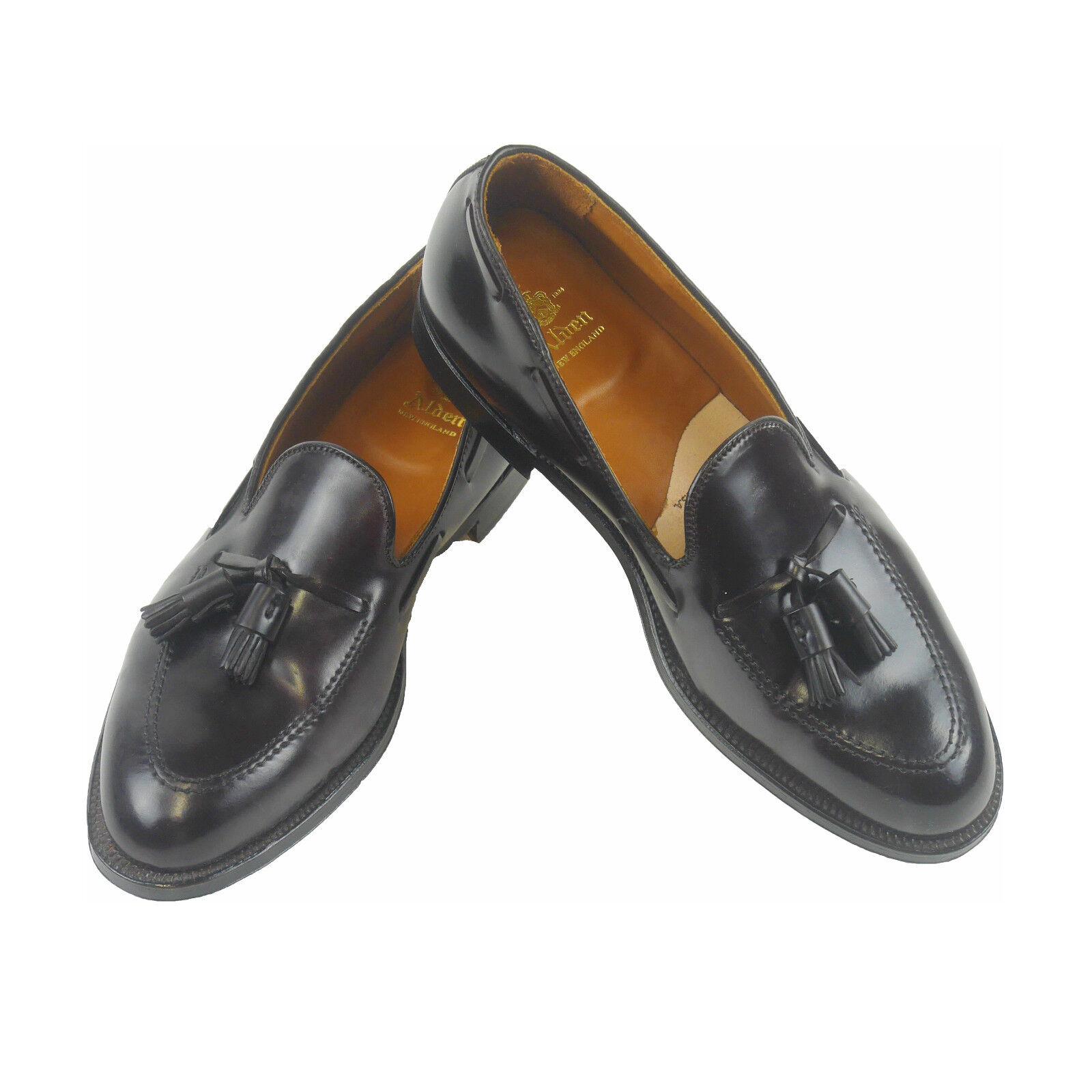 Alden Men's shoes   Tassel   Horse Leather Burgundi Us Size 11d (Previously